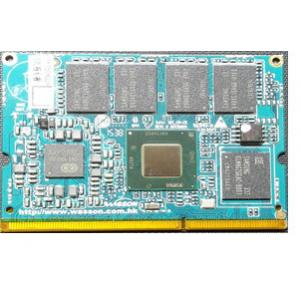 China Intel Cherry Trail Z8300 / Z8350 Mini Computer Board Supports MIPI DP Ports supplier