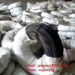 China Soft Black annealed wire with diameter BWG8-BWG38 on sale