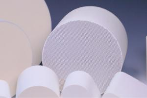 China Alumina Ceramic Substrate Diesel Ceramic Substrates , Honeycomb porous ceramic on sale