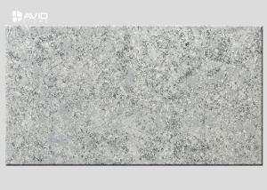 China Grey Marble Quartz Stone Slab Glossy Polished For Bench / Worktop Making on sale