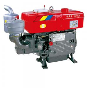 China Hand Starter ZS1125 200KGS 27.5HP Water Cooling Diesel Engine on sale