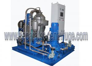China Automatic Skid Mounted Type Centrifugal Mineral Fuel Oil Handling Separator System for 3-phase Separation on sale