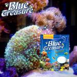 Sal marinho do mar do tesouro azul para peixes do aquário