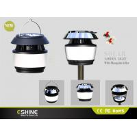 Electric Solar Mosquito Killer Lamp Rechargeable Li-ion , Waterproof
