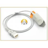 Reusable RGB Pulse Oximeter Finger Sensor Adult Finger Clip DB9 Pin TPU Cable Material