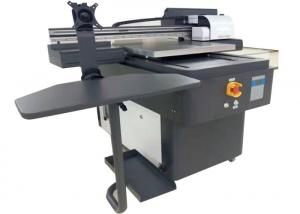 China 60*90cm A3 Size LED Flatbed Printer For Wood / Glass / Case / T Shirt Printing on sale