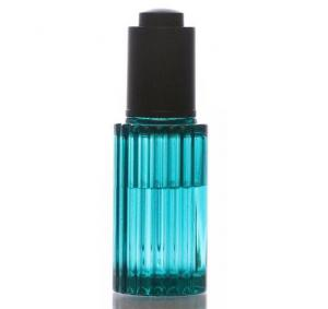 China 30ML Unique Cosmetic Dropper Bottles Thick Wall PETG With Aluminum Pump on sale