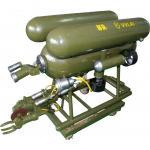 水中電気切断ROV (VVL-XFQG-30A)、ロープを、アルミニウム管切る、ステンレス鋼