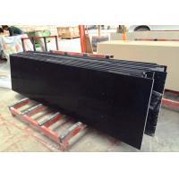 """Black Sparkle Quartz Tile Countertop Black Galaxy For Kitchen 26"""" X 96"""" X 2cm"""