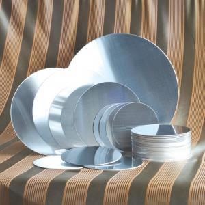 China 1050 1060 Aluminium Discs Circles  Tensile Strength Aluminium Circles For Utensils on sale
