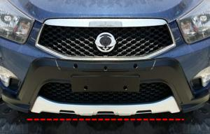 China Ssangyong Actyon 2014 Front auto bumper protectors / front bumper replacement on sale