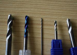 China Straight Shank Tialn Coating Diameter 0.8mm Twist Drill Bit on sale