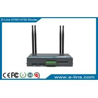 WiFi GPRS 2G / 3G HSDPA Router , Alloy Metal VPN Industrial 3G Modem