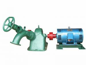 China Turgo Type Water Turbine for Hydropower Plant 75KW - 320Kw 60M - 210M Water Head on sale