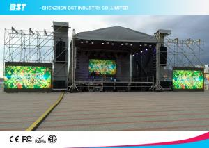 Quality Waterproof P6.25 SMD 3535 Rental LED Display , Outdoor Advertising LED Display for sale