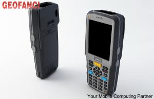 China Wireless Gsm 125khz RFID Reader 3.5inch Touch Screen Android 2D Barcode Scanner on sale