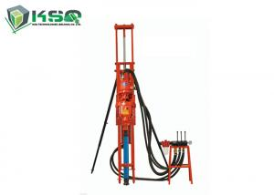 China High Efficiency Small Pneumatic DTH Drilling Rig Portable Borehole Water Well Drilling Rig Equipment on sale