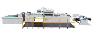 Quality Automatic Paper Box Die Cutting Machine With Stripping Wastage Off 1100 * 780 for sale