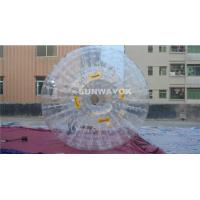 Crazy Giant Human Inflatable Water Park Hamster / Zorb Rolling Ball For Grass Land