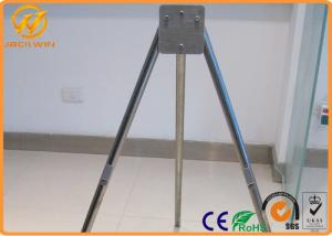 portable foldable traffic warning signs with tripod stand galvanized