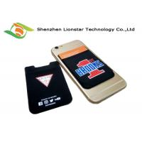 Multi Color  Stretch Phone Holder 3M Mobile Phone Wallet For Promotion Card / VIP Card