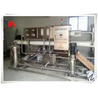 99.7% Purity Industrial Water Treatment Systems Bottled Water Plant Machine