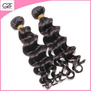 China Double Layers Hair Weft 9A Deep Wave Fashion Malaysian Virgin Hair Weave Bundles on sale