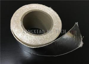 China High Temperature Resistant Fireproof High Silica Fabric Tape Aluminum Foil Coated on sale