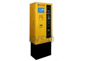 China Interactive Automated Parking Payment Kiosk Validation Rate Over 96% Cash Acceptor Easy To Operate on sale