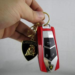 China Lambor MINI001 Car Flip Unlocked Quad Band Cell Phone key chain Mobile Phone on sale