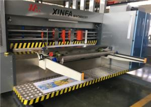 China Flexible Movement Flexo Printer Slotter Machine With Full Computer Control on sale