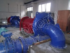 China Small Horizontal Shaft Francis Hydro Turbine 500KW For Hydropower Stations renewable energy on sale