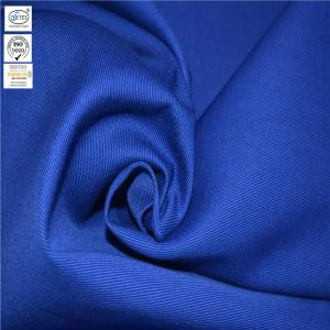 China Blue High Tenacity CN 88% Cotton 12% Fire Retardant Nylon Fabric on sale