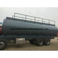 Hydrochloric Acid Tank Body 25500L For South America Trucks