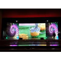 Stacking / Hanging Indoor LED Screen Hire P3.9 LED Video Curtain Rental For Concert