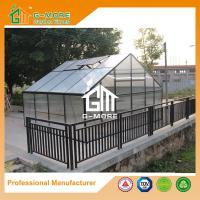 China 406x506x302cm Durable 4 Seasons Aluminum/10MM Polycarbonate Large Plant House on sale