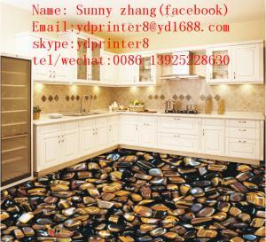 China Alibaba China uv led flatbed inkjet 3D printer ceramic tile printing machine price on sale
