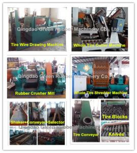 China Fully Automatic Tyre Recycling Machine on sale