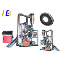 China Reduce Wastage Synthetic Rubber Tire Grinder , PEC Fine Powder Rubber Grinding Equipment on sale