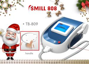 China Painless Vacuum 808nm Diode Laser Hair Removal Machine with Touch Control on sale