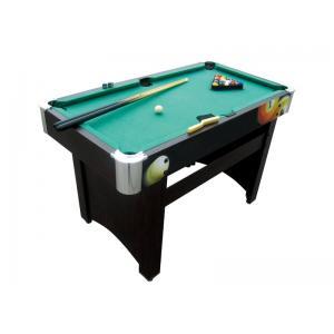 China diseño de gráficos de madera de color de la mesa de juegos de los billares de los 4FT con la esquina plástica cromada on sale