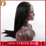 Unprocessed Water Wave Cuticle Aligned Virgin Human Hair Full Lace Wig