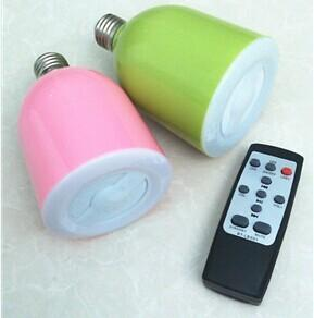 China Led Bluetooth Speaker With Led Lamp RGB Lamp Wireless , Speaker And Lamp RGB Lamp Wireless on sale