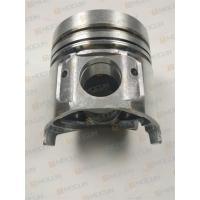 4TNE98 Yanmar Diesel Engine Parts Cast Aluminum Pistons 98mm Height YM129903-22120