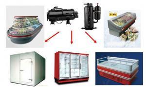 China R22,R404a Refrigeration Compressor for Freezer , Supermarket cabinet / display showcase on sale