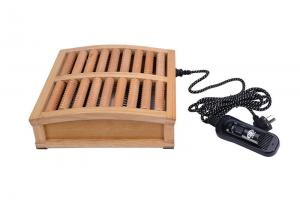 China Electric Heater Wooden Foot Massager To Promotion Blood Circulation on sale