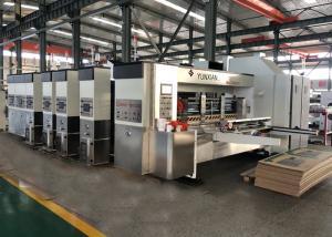 China High Definition Flexo Printer Slotter Machine With 250-300pcs/Min Speed on sale