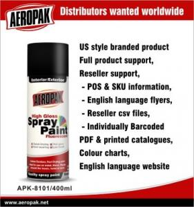 China Automotive Aerosol Spray Paint , DIY Aerosol All Purpose Spray Paints on sale