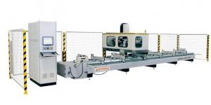China curtain wall processing machine  New Type High-speed 4 Axis CNC Processing Center on sale