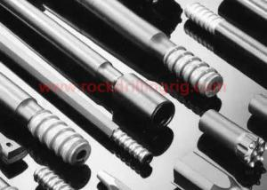 China Hydraulic Power Drill Tools Shank Adapters T51 T45 T38 R38 R32 For Ore Mining on sale